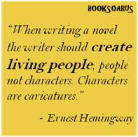 How to create characters in novels